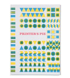 Ian Gabb #shaps #print #colour #geometric