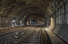 Peek Inside The Worldxe2x80x99s Forbidden Subway Tunnels #subway #photography #environments