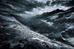 Monochromatic Alps on Photography Served #photography #nature