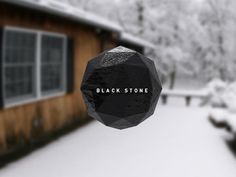 Black Stone #creative #stone #burnt #black #toast
