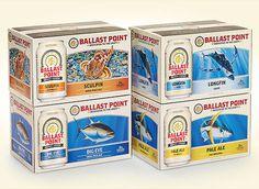 Ballast Point Cases #beer #bottle #packaging