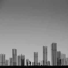 Minimalist Black and White Landscape Photography by Mostafa Nodeh