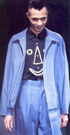"archivings: "" Yohji Yamamoto Menswear Fall/Winter 1991 """