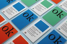 color - with green #card #identity #business
