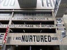 Vernacular Typography › LOVE LETTER TO BROOKLYN #signage #type #lettering #espo