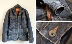 Flathead #jacket #denim #edwin