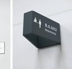 Wayfinding | Signage | Sign | Design | System oznakowniadla szpitala