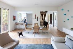living room + dining room / In Situ Studio
