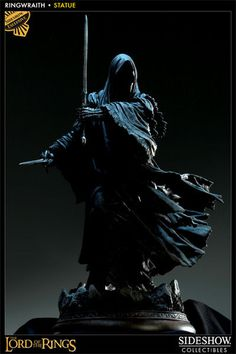 Ringwraith Polystone Statue   Sideshow Collectibles   SideshowCollectibles.com