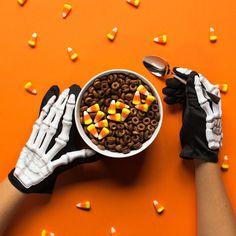social content, cheerios, halloween