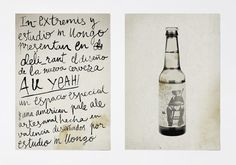 Diseño de packaging cerveza In Extremis, comunicación, AUYEAH #beer #bottle #packaging #done #hand