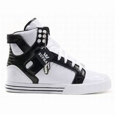 Supra Skytop High Tops White/Black Women's #shoes