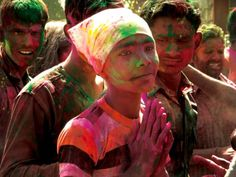 360 jours #festival #photo #india #color #holi #celebration #indian #rajahstan