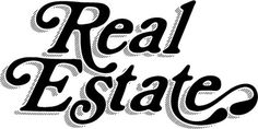 All sizes | Real Estate logo | Flickr - Photo Sharing! #lettering