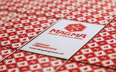 FPO: Magma Press Letterpress Pattern Cards #red #print #magma #letterpress #fpo #press #for #only #cards