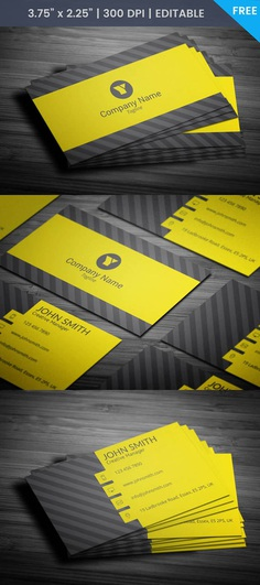 Free Media Business Card Template