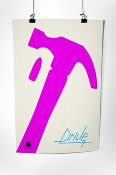 The works of Rodrigo Vejar #drive #minimal #poster