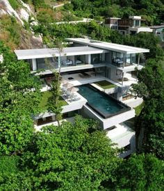 WANKEN - The Blog of Shelby White » Villa Amanzi #edge #infinity #amanzi #pool #architecture #thailand #residence #villa