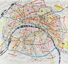 Paula Scher #lettering #scher #paula #large #colour #maps