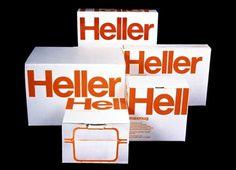 Heller on Heller: Observatory: Design Observer #massimo #vignelli #packaging #heller #vintage
