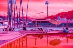 Infra Realism: Hypercolour Photos of California by Kate Ballis