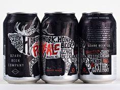 Ozark American Pale Ale Cans #packaging #beer