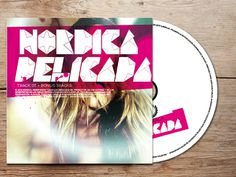 nordica: no me importa on Behance #pop #rock #colours #cover #art #music #menthol #typo