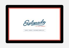 Esplanade // A website by Hardhat #zealand #restaurant #website #hardhat #new