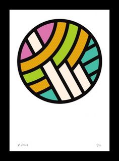 Google Reader (48) #poster #color #circle #lines #colour #rob lowe