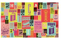 Eric Rohter / Neenah in Chicago #design #army