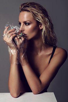 Michaela Kocianova by Branislav Simoncik for Top Fashion Magazine