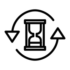 See more icon inspiration related to hourglass, time, time and date, ui, sandclock, refresh, update, interface, clock and arrows on Flaticon.