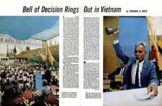 LIFE Magazine September 1, 1967 (1) - Bell of Decision Rings Out in Vietnam