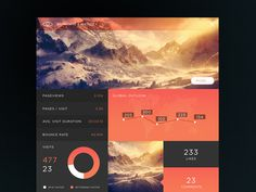 SJQHUB™ // B&I Dashboard #flat #branding #timeline #portal #ux #menu #ui #dashboard #stats #infograohic
