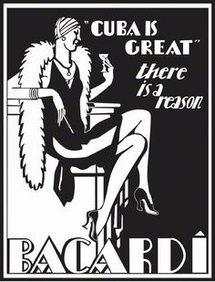Prohibition Style Poster
