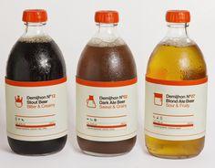 Demijhon Beer on Behance #packaging #icons #juice