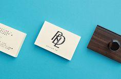 RDL Identity #stamp #print #monogram #identity #stationery #logo