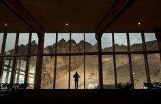 Cafe Knoll Ridge landscape #mountain #architecture #volcano #caf