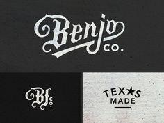 Benjo Logo Pieces by Amy Hood