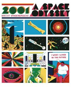 2001 A Space Odyssey / Brecht Vandenbroucke #a #print #space #brecht #comic #2001 #illustration #odyssey #vandenbroucke