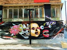 tumblr_loynuxjQ0m1qmk2dko1_1280.jpg (1280×960) #mural #graffiti #london #street #art #painting