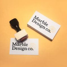 Stamped Business Cards #businesscard #stamped businesscards #branding #stamp #businesscarddesign #identity #marble