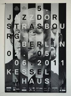 - jazzdor 11 : HELMO #helmo #poster