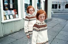 Twins by Ed van der Elsken #red #photo #girls #hair #twins #ginger #freckles