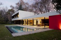 Opulent Modern Getaway in Buenos Aires, Argentina: BLLTT House #architecture #modern