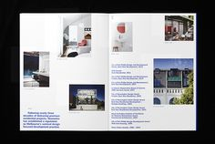 Nine Smith Street by Neometro — Studio Hi Ho #spread #print #brochure