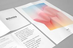 Rítmia identity by Atipus. - #colors #design #graphic