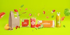 food, health food, packaging, juice