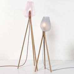 hanna krüger: add.on floor lamp #glass #lamp #design