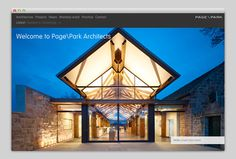 PagePark (amazing web typography) #website #layout #design #web